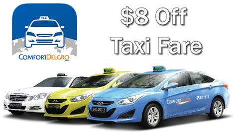 comfort taxi rates comfort taxis 8 off fare promo code 6am to 6pm on 1 apr