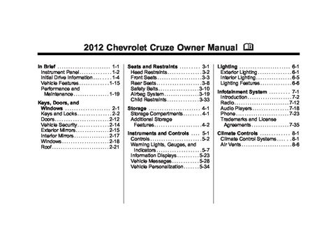 service repair manual free download 2012 chevrolet cruze on board diagnostic system 2012 chevrolet cruze owners manual just give me the damn manual