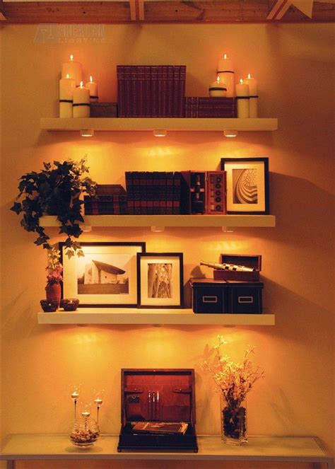 Shelf Lighting by Halogen Cabinet Lighting Arcadianhome