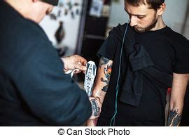 tattoo transfer process tattoo art sketch of a mermaid pisces stock photos
