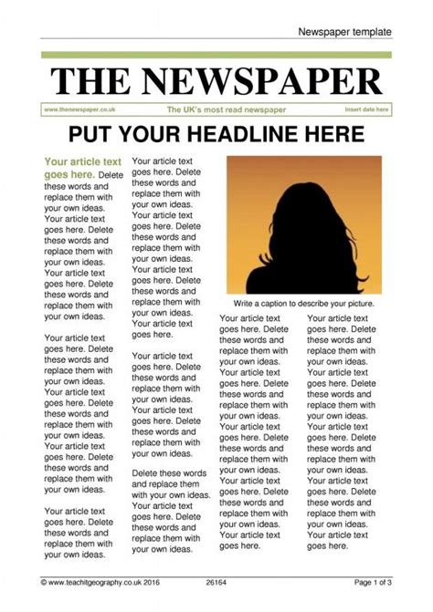 news article format  microsoft word  actual
