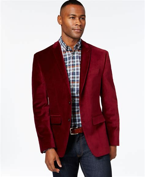 Jaket Blazer Maroon argyle culture burgundy velvet blazer fall sport coat suit inspo sport coat and