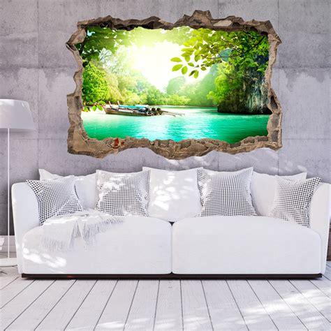 3d wall murals 3d wall illusion wallpaper mural photo print a in the wall optical design ebay