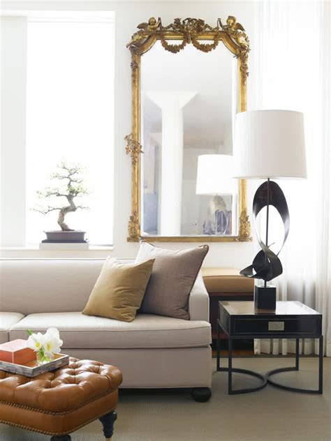 mirror living room beautiful oversized mirror living room