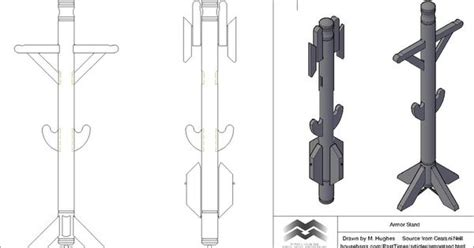 vincent gauntlet template portable armor suit stand by trappermitch on deviantart