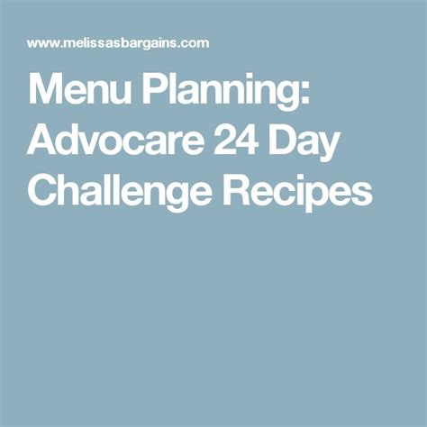 meal ideas for advocare 24 day challenge 1000 ideas about 24 day challenge on advocare