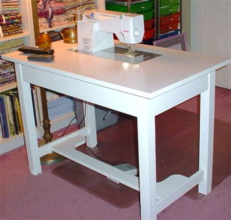 sewing machine cabinets tables plans pdf