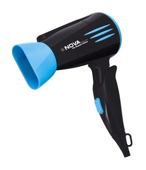 Hair Dryer And Straightener Price nhp 8200 1800 w hair dryer black blue available