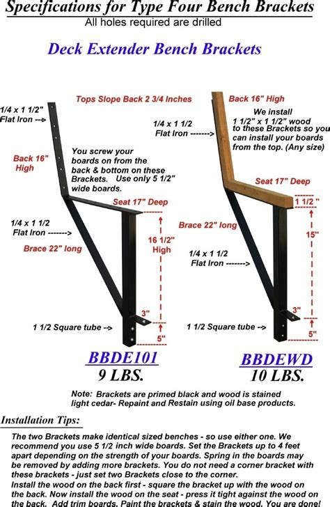 how to add a back to a bench steel bench brackets and deck seating
