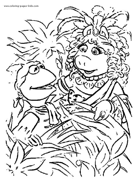 Ordinal Hunger 04 miss piggy colouring pages