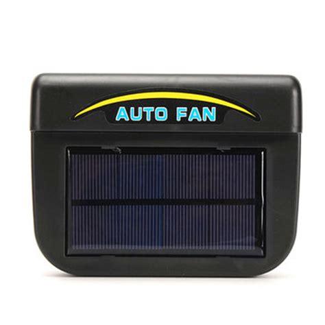 Pendingin Mobil Auto Cool Solar Powered Air Ventilation Unik car vehicle solar sun powered power window fan ventilator auto cool air vent sale banggood