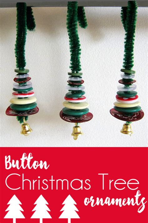 Handmade Trees Craft - handmade decorations miniature button tree