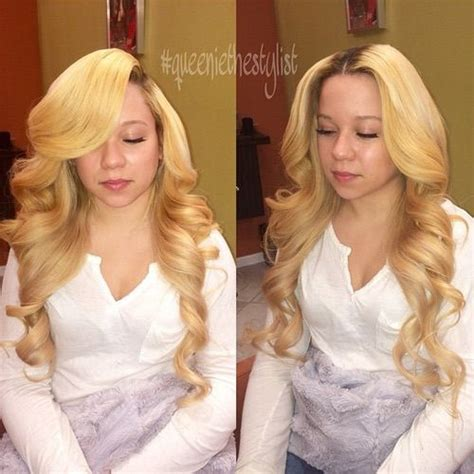sew in hair weaves pictures for white people sunnykelss l o c k s pinterest girls and white girls