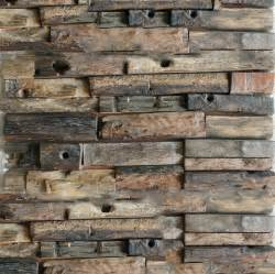 Kitchen Wall Panels Backsplash Natural Wood Mosaic Tile Rustic Wood Wall Tiles Nwmt014
