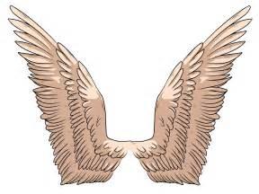 Simple archangel drawings draw angel wings step 7 jpg