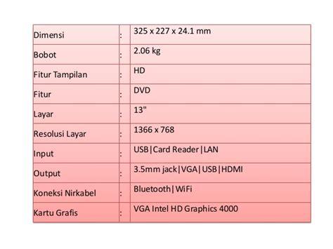 spesifikasi dan fitur lengkap laptop apple macbook pro md102