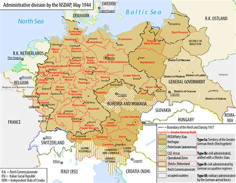 map of germany 1944 bleiben wir doch treu a surviving third reich
