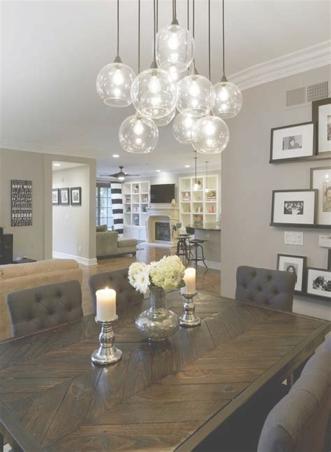 collection  chandelier lights  dining room