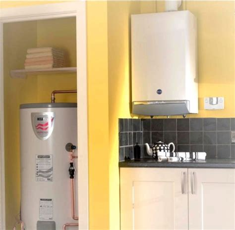baxi high energy condensing gas boiler and cylinder