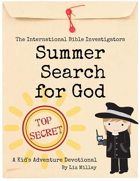 Search For International Summer Search For God International Bible Investigators Adventure Devotional