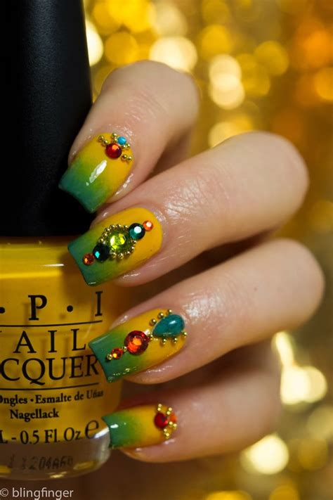 indian nail art tutorial 605 best ombre galaxy nail designs images on pinterest