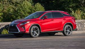 Lexus In Hybrid 2016 Lexus Rx 450h Hybrid Crossover Details Images