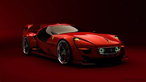 Ferrari Concept this fan made ferrari concept hits all the right retro buttons