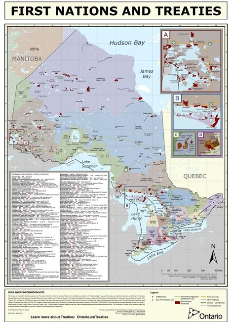 canadian map of nations nations reserves and treaties from1781 1930 in