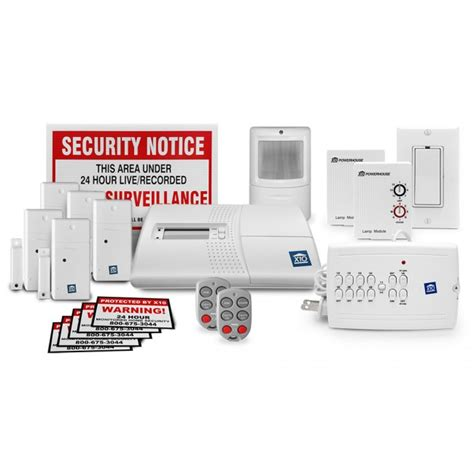 x10 home security kit with home automation bundle