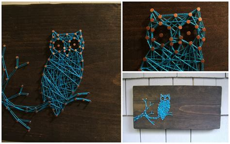String Designs - if you want to order an owl they are available in my etsy