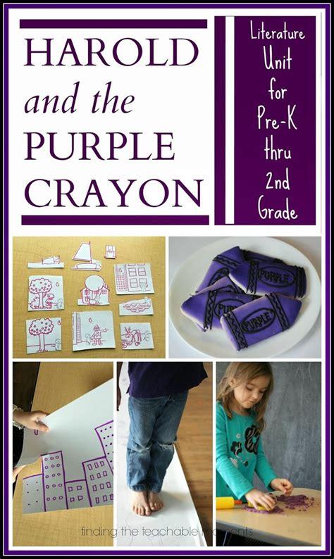 libro harold and the purple mejores 660 im 225 genes de preschool ideas en actividades preescolares preescolar y