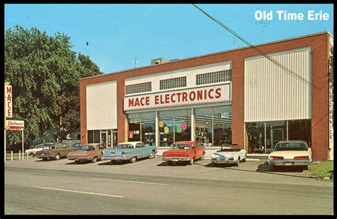 old time erie mace electronics west 8th street store