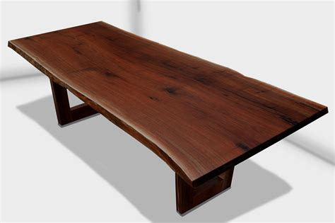 Live Edge Walnut Table by Walnut Rooted Dining Table By Live Edge Design