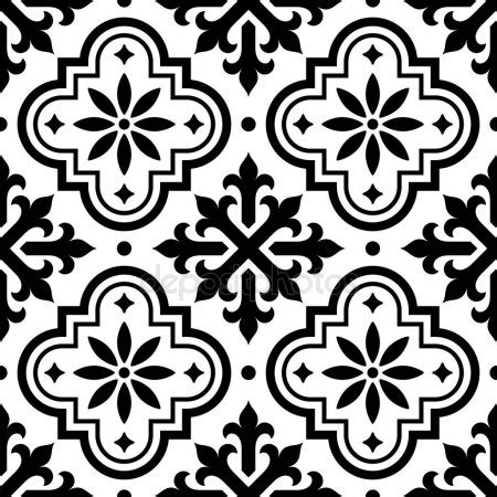 spanish tile pattern moroccan stock vectors royalty free moroccan