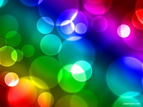 keynote backgrounds rainbow bokeh background