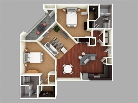 how to make 3d floor plans 3d colored floor plan architecture colored floor plan