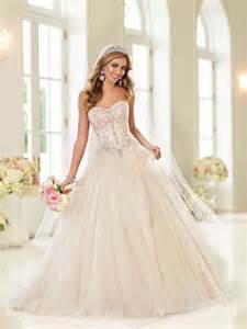 Stella york spring 2015 wedding dress collection modern wedding