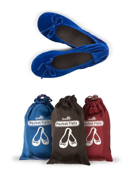 fold away flat shoes cabeau pocket flats foldable ballet shoes available in