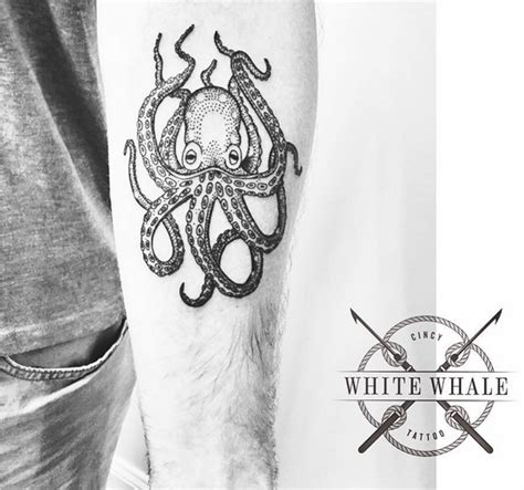 white whale tattoo white whale s pointillist style is well on point