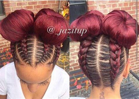 two braids goung into a ponytail natural hair best 25 goddess braids ideas on pinterest black braided