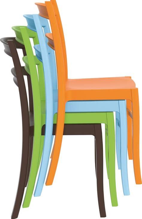 sedie plastica colorate telma sedie in plastica da esterno per bar e ristoranti