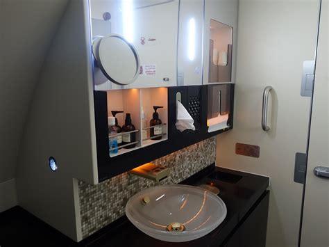 etihad first class bathroom my 23 000 flight on the etihad residence apartment for