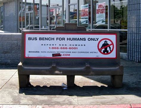 bench signs report non humans 187 funny bizarre amazing pictures videos