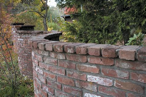 Brick Garden Walls Saunders Construction Essex Builders Garden Brick Walls
