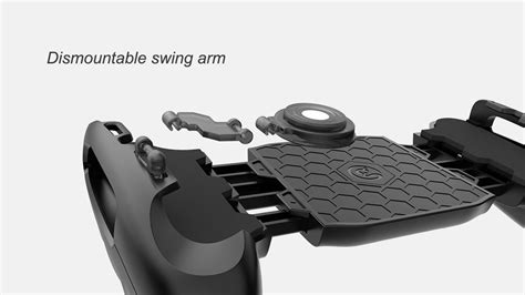 Gamesir F1 Joystick Controller Grip For Moba For Smartphone Biru gamesir f1 joystick controller grip for moba mmorpg for iphone android smartphones