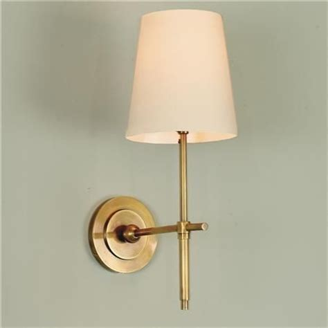 Shade Sconce 25 Best Ideas About Bathroom Sconces On Pinterest