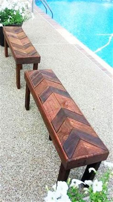 scrap wood bench how beautiful are these benches made from scrap wood