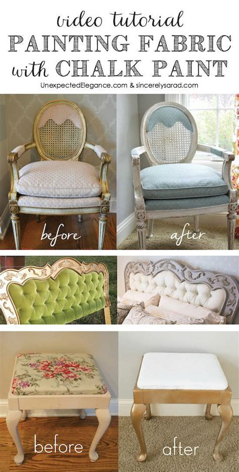 chalk paint on fabric painting fabric with chalk paint tutorial chalk
