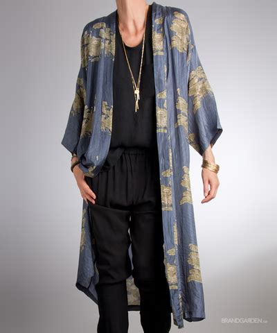 Dress Omega Pa omega indochine kimono denim rabens saloner sewing