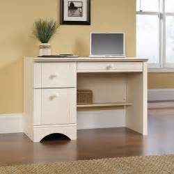 Sauder Harbor View Desk Sauder Harbor View Computer Desk Antiqued White Finish